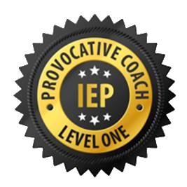 Ik ben geregistreerd Provocatief Coach